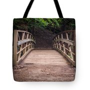 Foot Bridge Waiting Tote Bag