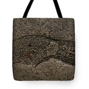 Foot Print Tote Bag
