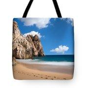 Foot Prints In Cabo Tote Bag