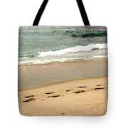 Foot Prints In The Sand.jpg Tote Bag