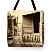 Foot Steps On The Front Porch  Tote Bag