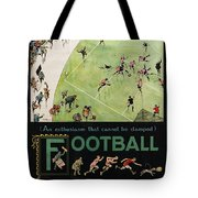 Football By The Underground Tote Bag