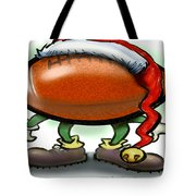 Football Christmas Tote Bag by Kevin Middleton
