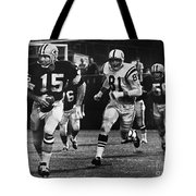 Football Game, 1966 Tote Bag