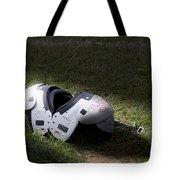 Football Shoulder Pads Tote Bag