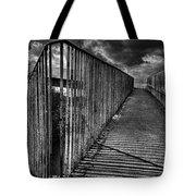 Footbridge Railings Tote Bag
