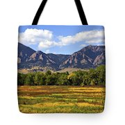 Foothills Of Colorado Tote Bag