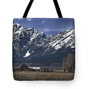 Foothills Of The Tetons Tote Bag