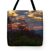 Foothills Parkway Dawn Tote Bag