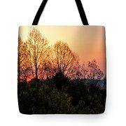 Foothills Parkway Sunrise Tote Bag