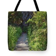 Footpath In Peters Canyon I Tote Bag