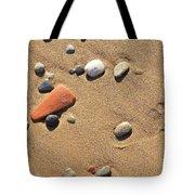 Footprint On Sand Tote Bag