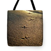 Footprints - Bird Tote Bag