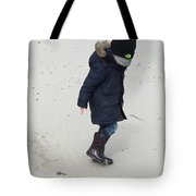 Footsteps In Sand Tote Bag