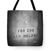 For God And Ireland Macroom Ireland Tote Bag by Teresa Mucha
