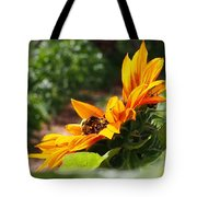 For The Honey Comb Tote Bag