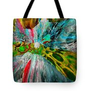 For The Love Of Circles Tote Bag by Kate Word