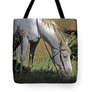 For The Love Of His Horse Tote Bag