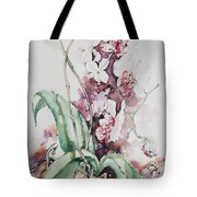 For The Love Of Orchids Tote Bag