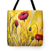 For The Love Of Poppies Tote Bag