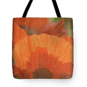 For The Love Of Poppy Tote Bag