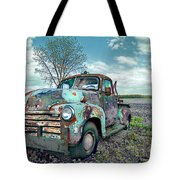 For Whom The Truck Tows Tote Bag