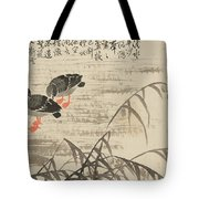 Foraging In The Wild Goose River Tote Bag