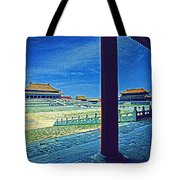 Forbidden City Porch Tote Bag