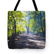 Forbidden Drive - Philadelphia Tote Bag