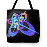 Force Fields Tote Bag