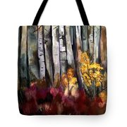 Forced Forsythia Tote Bag