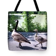 Three On A March Tote Bag