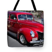Ford 40 In Red Tote Bag