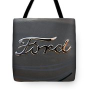 Ford Antique Auto Emblem Tote Bag