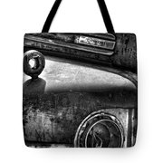 Ford Broken Headlamp Tote Bag by Barry C Donovan