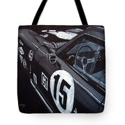 Ford Cobra Racing Coupe Tote Bag