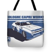 Ford Cologne Capri Works Tote Bag