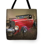 Ford Coupe Cartoon Photo Abstract Tote Bag