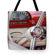 Ford Crown Victoria Stering Wheel Tote Bag