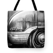 Ford Deluxe Fender Black And White Tote Bag