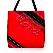 Ford Emblem -0841c Tote Bag