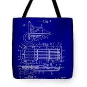 Ford Engine Lubricant Cooling Attachment Patent Drawing 1c Tote Bag