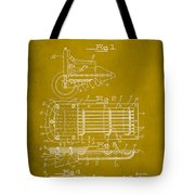 Ford Engine Lubricant Cooling Attachment Patent Drawing 1d Tote Bag