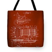 Ford Engine Lubricant Cooling Attachment Patent Drawing 1g Tote Bag