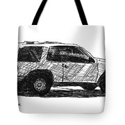 Ford Explorer Tote Bag