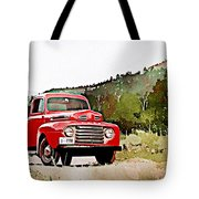 Ford F-1 Tote Bag