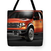 Ford F150 Svt Raptor Tote Bag