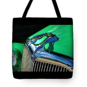 Ford Greyhound Hood Ornament Tote Bag