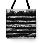 Ford Grill Tote Bag by Barry C Donovan