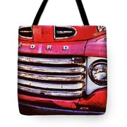Ford Grille Tote Bag by Michael Thomas